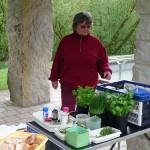 Kräuterquarkherstellung